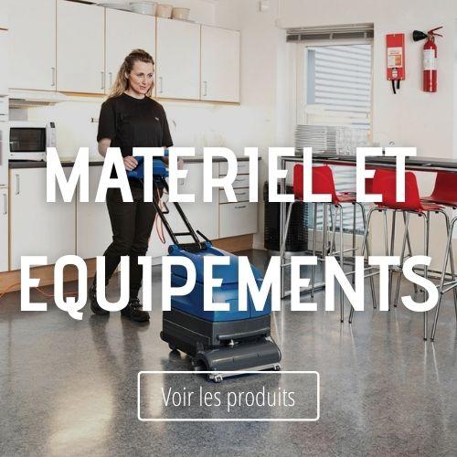Matériel et Equipement de nettoyage et d'entretien