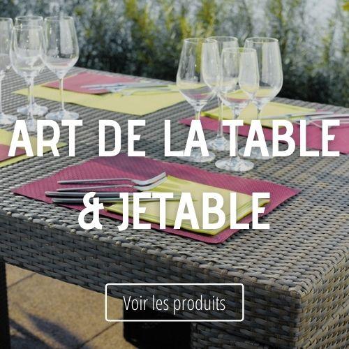 Art de la table & jetable